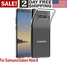 For Samsung Galaxy Note 8 Case Clear Protective Cover Shock Absorption Bumper