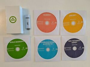 USB with installation code! Switched on Schoolhouse 9th Grade CD Set + elective!