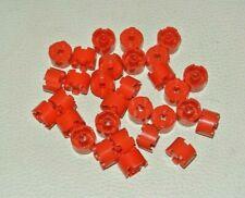 4211166 LEGO Pierre environ rundstein 2 x 2 brun rouge 10 Pièce