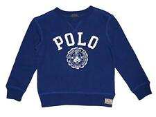 NWT Ralph Lauren Polo Boys Atlantic Terry Graphic Pullover Sweatshirt