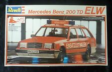 Revell Mercedes Benz 200 TD ELW 1/24 Scale Model Kit