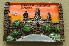 Kambodscha, Angkor Elefan, Reiseandenken Souvenir 3D Polyresin Kühlschrankmagnet