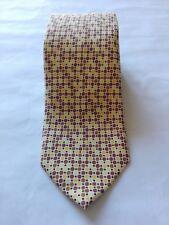St SAINT ANDREWS man tie cravatta uomo 100% SILK (stile Kiton Brioni )