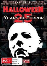Halloween - 25 Years Of Terror (DVD) Horror [Region 4] NEW/SEALED