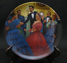 """Lincoln, Man of America #2 - """"The Inauguration"""" - Knowles Collectors Plate"""
