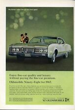 1967 Oldsmobile Olds 98 Ninety-Eight 4-Door PRINT AD