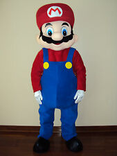 PROFESSIONAL NEW ADULT  MASCOT COSTUME MARIO CHARACTER