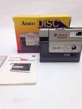 ANSCO MEMO DISC HR10 CAMERA FLIP FLASH VINTAGE 12.5mm KODAK TELE DISC PICTURE 1