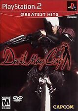 Devil May Cry (Sony PlayStation 2, 2002) VERY GOOD
