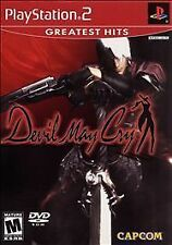 Devil May Cry 1 Sony Playstation 2 PS2 Video Game - Complete