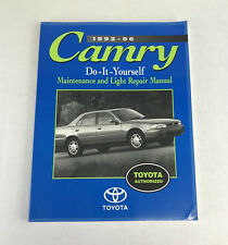1992-96 Camry Do-It-Yourself Maintenance and Light Repair Manual Toyota
