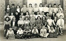 5th Grade Students Pose, Jefferson School, Visalia CA 1942