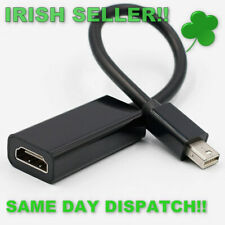Mini Display Port to HDMI Adapter Black Adapter Cable For Mac Macbook Pro Black