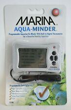Marina Aqua-Minder Programmable Digital Thermometer 2-Pack