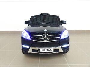 Kinder Elektro Auto Mercedes ML350 Kinderauto Elektrofahrzeug in Schwarz 12V