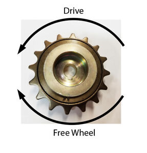 16T Free wheel Sprocket Hub f MY1018 ZY1016Z motors f bicycle 410 standard chain