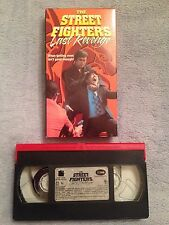 The Streetfighter's Last Revenge (1974) - VHS Video Tape - Action / Kung Fu