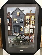 """New Framed Annie Lee """"Sweet And Juicy"""" African American Art Poster Print"""