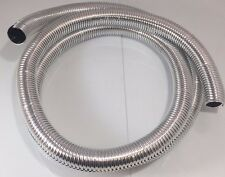 "Wire Loom 3/4"" Diameter 72"" Long Universal (Chrome)"