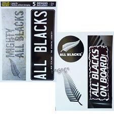 All Blacks iTag Set of 5 Mixed UV iTag Bumper Decals / Stickers