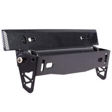 License Number Plate Frame Holder Bull Bar Bumper Mount Light Lamp LED Bracket