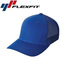 Flexfit Mesh Trucker Baseball Cap L/XL Royalblau