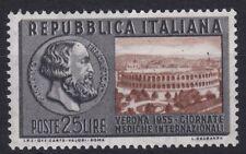 ITL138) Italy 1955 International Medical Congress Verona, MUH