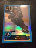 2001-02 Topps NHL All-Star Game #3 Joe Sakic Colorado Avalanche Hockey Card QTY