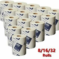 Tork Hand Towels Paper Towel Roll Bulk Industrial Kitchen White 8/16/32 Rolls