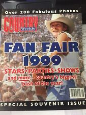 Country Weekly-7/13/99 Fan Fair 1999 Special Souvenir Issue Alan Jackson