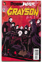 Grayson 15 DC New 53 2014 VF NM Dick Nightwing Batman 1st Print Robin War
