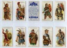 Full Set, Players, Arms & Armour, Blue Backs 1909 VG-EX (Gb1834-162)