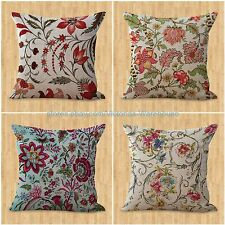 cheap throw pillow case set of 4 cushion covers retro boho flower