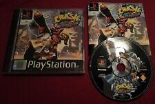 Crash 3 Warped PS1 PAL UK No Tombi Suikoden Castelvania Clock Tower big box PS4