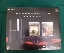 console playstation 3 60gb(250)fat  games giochi psx ps2 ps3 bundle very rare