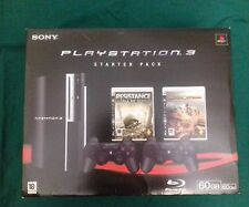 console playstation 3 60gb fat  games giochi ps1 ps2  ps3 bundle very rare