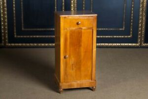 Original Biedermeier Pier Cabinet Dresser Cherry 1820