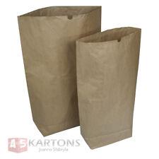 50 neue. Papiersäcke braun 120 Liter, 2-lagig 70x95x20, Papiersack, Abfallsäcke