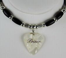 Prince Script Logo Guitar Pick Necklace