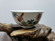 Fine  Chinese Handpainted Porcelain Famille Rose  Bowl