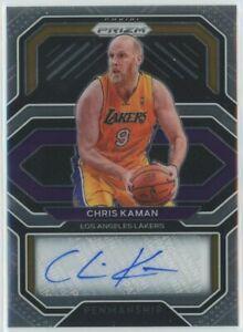 2020-21 Prizm CHRIS KAMAN Penmanship Auto Lakers Autograph SSP PE-CHR🔥