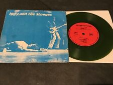 IGGY AND THE STOOGES Nowhere 45 PS rare FRENCH PRESSING green wax