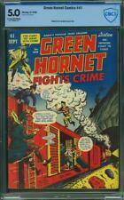 Green Hornet #41 (Harvey, 1948) CGC 5.0 💥 MT Rainier Collection 💥