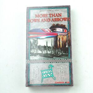 More Than Bows and Arrows (VHS, 2000) - Sealed