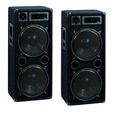 2 x OMNITRONIC DX-2222 3-way speaker, 1000 W