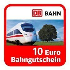 10 EUR Gutschein (eCoupon) | KOSTENLOS | Deutsche Bahn BahnCard Ticket