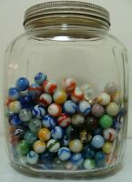 100 Random Marbles Vintage WV Swirls Ravenswood Alley Agate Jackson CAC Sweet