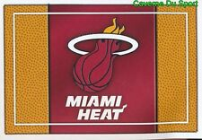 163 TEAM LOGO USA MIAMI HEAT STICKER NBA BASKETBALL 2017 PANINI