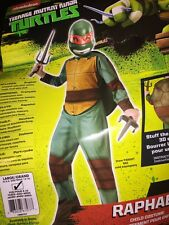 Teenage Mutant Ninja Turtles Raphael Child Costume  Large 12-14 New Halloween