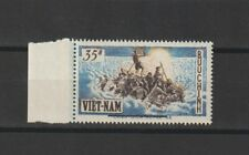 1956 South Vietnam Stamps Refugee with Overprint Sc # 54  MNH